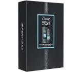 Dove Men + Care Clean Comfort sprchový gel pro muže 400 ml + antiperspirant sprej 150 ml, kosmetická sada