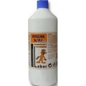 Labar kyselina solná chlorovodíková 31% technická 1 l Příplatek za dopravné balíkem 499 Kč