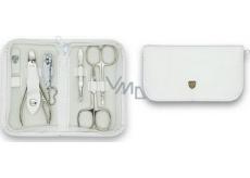 Kellermann 3 Swords Luxusní manikúra White 6 dílná Articial Leather z vysoce kvalitní umělé kůže 7830 F N