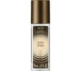Naomi Campbell Queen of Gold parfémovaný deodorant sklo pro ženy 75 ml