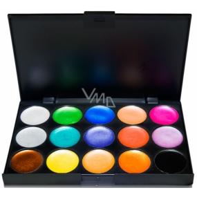 Be Chic! Creamy Color Palette paleta 15 očních stínů