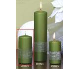 Lima Stuha svíčka světle zelená válec 60 x 120 mm 1 kus