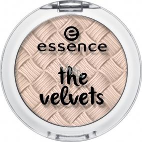Essence The Velvets Eyeshadow oční stíny 02 Almost Peachy! 3 g