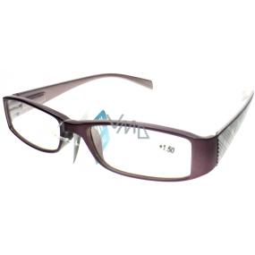 Berkeley Čtecí dioptrické brýle +1,50 starorůžové 1 kus MC2104