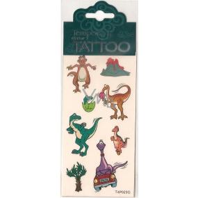 Tetovací obtisky dětské zvířátka T4P023G 7,5 x 15 cm