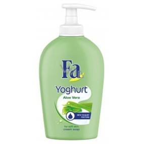 Fa Yoghurt Aloe Vera krémové tekuté mýdlo dávkovač 250 ml