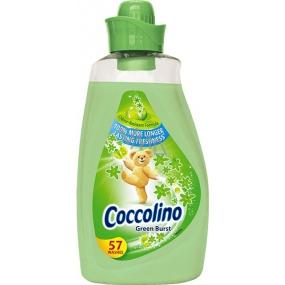 Coccolino Green Burst koncentrovaná aviváž 57 dávek 2 l