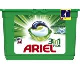 Ariel 3v1 Mountain Spring gelové kapsle na praní prádla 14 kusů