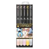 Chameleon Color Tones CT0501 sada tónovacích alkoholových fixů 5 kusů