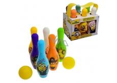 Mimoni 2v1 šampon a sprchový gel pro děti 6 x 100 ml + 2 x míč, Bowlingová souprava dárková sada pro děti expirace 9/2018