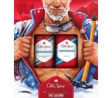 Old Spice White Water sprchový gel 250 ml + deodorant sprej 150 ml, kosmetická sada pro muže