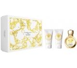 Versace Eros pour Femme parfémovaná voda 50 ml + tělové mléko 50 ml + sprchový gel 50 ml, dárková sada