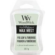 WoodWick Fig Leaf & Tuberose - Fíkové lístky a tuberóza Artisan vonný vosk do aromalampy 22,7 g