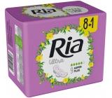 Ria Ultra Super Plus ultra tenké hygienické vložky s křidélky 9 kusů