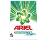 Ariel Mountain Spring prací prášek pro čisté a voňavé prádlo bez skvrn 40 dávek 3 kg