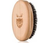 Angry Beards Gentler dřevěný kartáč na vousy 10,3 x 6,3 cm