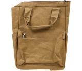Albi Eko batoh s uchy vyrobený z pratelného papíru Bez potisku 39 x 28 x 16 cm