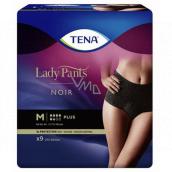 Tena Lady Pants Plus Černé natahovací kalhotky velikost M 9 kusů