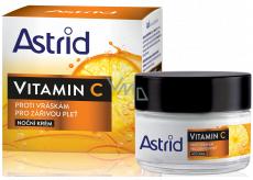 Astrid Vitamin C proti vráskám noční krém 50 ml