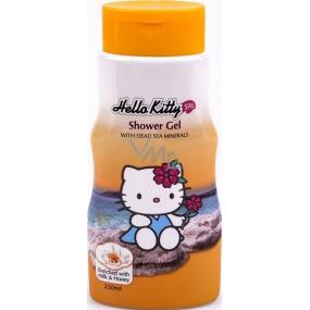 Hello Kitty Minerály z Mrtvého moře sprchový gel pro děti 250 ml