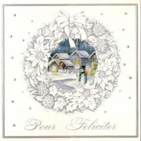 Nekupto Přání k Vánocům Pour Feliciter sněhulák