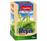 Apotheke Řepík lékařský nať sypaný čaj pro přirozenou obranyschopnost 75 g
