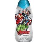 Marvel Avengers 2v1 šampon a kondicionér na vlasy pro děti 350 ml