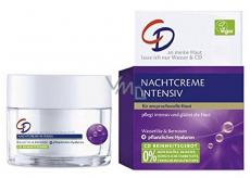 CD Intensiv Wasserlilie - Vodní leknín a kyselina hyaluronová noční pleťový krém proti vráskám 50 ml