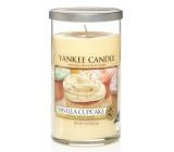 Yankee Candle Vanilla Cupcake - Vanilkový košíček vonná svíčka Décor střední 340 g