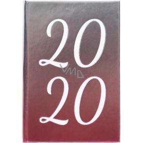Albi Diář 2020 mini Metalický 11 x 7,5 x 1 cm