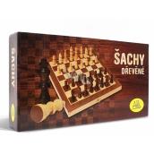 Albi Šachy dřevěné stolní hra