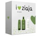 Ziaja Oliva krém na ruce a nehty 80 ml + sprchový gel 500 ml + tělové mléko 400, kosmetická sada