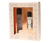 Panier des Sens Levandule parfémovaná voda pro ženy 50 ml + tělové mléko 50 ml, kosmetická sada pro ženy