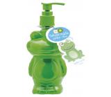 Moje Žába Jablko a kiwi tekuté mýdlo dávkovač 250 ml