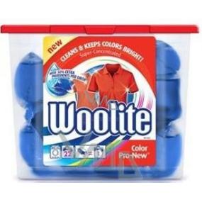 Woolite Color Pro-New gelové kapsle na barevné prádlo 22 x 24 ml
