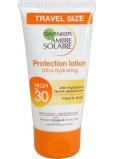 Garnier Ambre Solaire Protection Lotion OF30 opalovací mléko Vysoká ochrana 50 ml