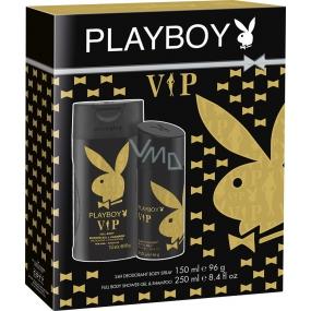 Playboy Vip for Him deodorant sprej 150 ml + sprchový gel 250 ml, kosmetická sada