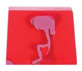 Bomb Cosmetics Rubínový Vegas - Ruby Vegas Přírodní glycerinové mýdlo 100 g