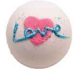Bomb Cosmetics Vše co potřebujete, je láska - All You Need is Love Šumivý balistik do koupele 160 g