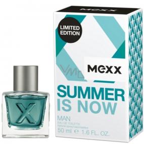 Mexx Summer Is Now Man toaletní voda 50 ml