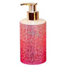 Vivian Gray Diamond Sundown Pink luxusní tekuté mýdlo s dávkovačem 250 ml