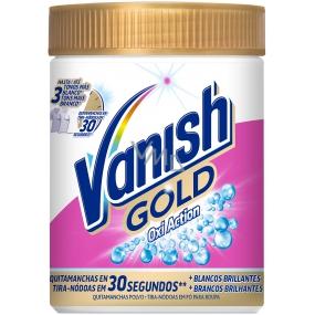 Vanish Gold Oxi Action White odstraňovač skvrn prášek 625 g