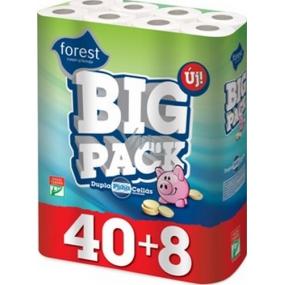 Forest Bick Pack toaletní papír 2 vrstvý 150 útržků 48 kusů