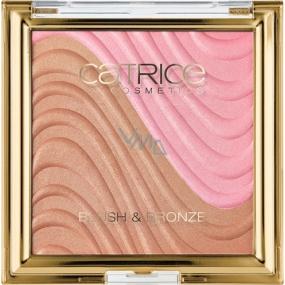 Catrice Sound of Silence Blush & Bronze tvářenka a bronzer C01 Desert Flower 9,95 g