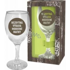 Albi Můj Bar Sklenka na víno Nezbytná výbava moderní matky 220 ml