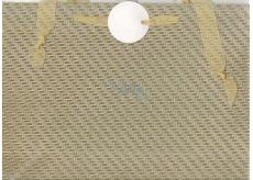 Nekupto Dárková papírová taška malá 12 x 17 cm Stříbrná glitrová 036 02 QS
