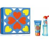 Moschino I Love Love toaletní voda pro ženy 30 ml + tělové mléko 50 ml, dárková sada