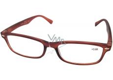 Berkeley Čtecí dioptrické brýle +1,5 hnědé mat 1 kus MC2 ER4040