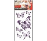 Tetovací obtisky Motýli s otakárkem 10,5 x 6 cm