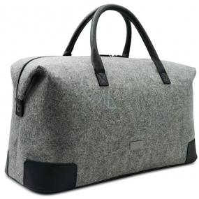 Hugo Boss Always On Jul 16 víkendová taška velká šedá 51 x 21 x 33 cm